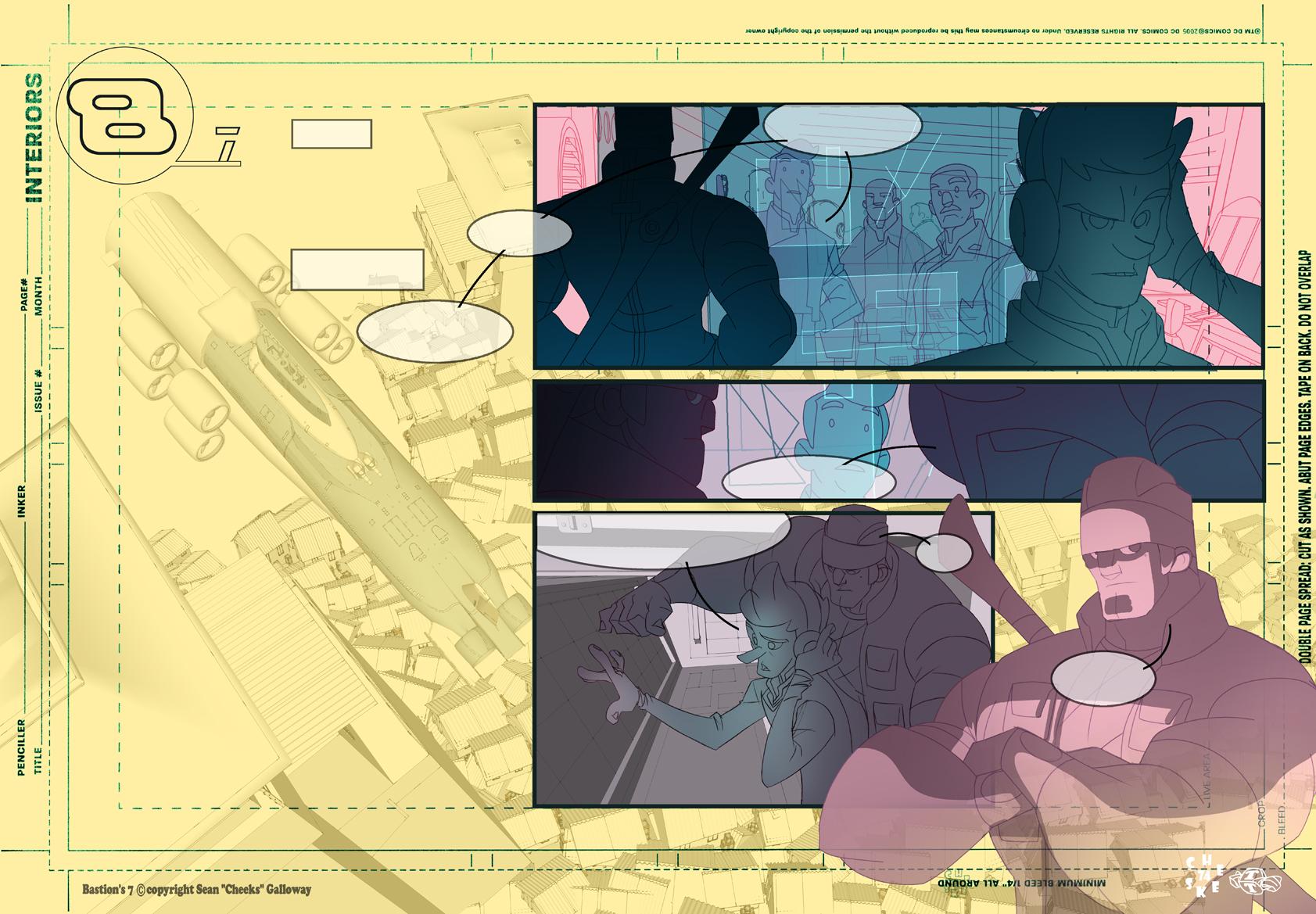 Bastion's 7 webcomic p1 sneakpeak by cheeks-74