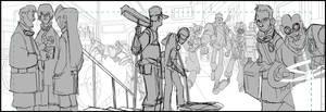 Bastion's 7 Webcomic page 4 sneak peek