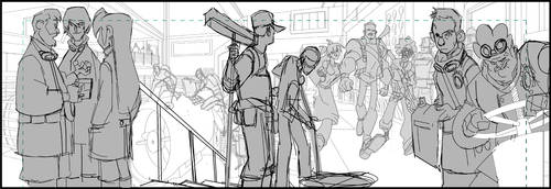 Bastion's 7 Webcomic page 4 sneak peek by cheeks-74