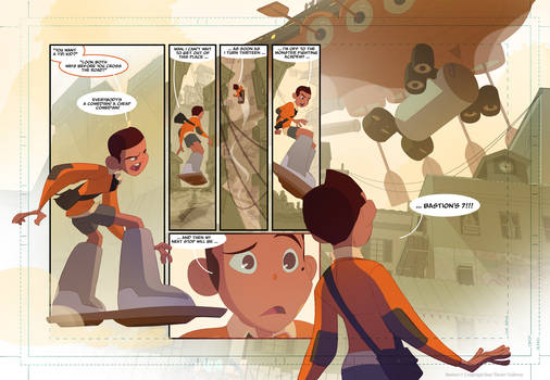 Bastion's 7 Webcomic page 6!