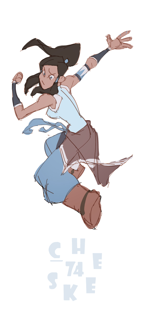 Another Korra fanart by cheeks-74