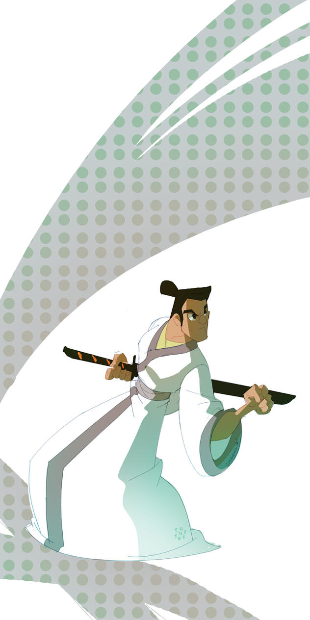 Samurai Jack fanart by cheeks-74