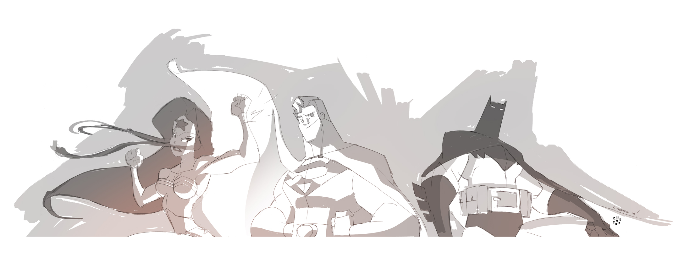 Justice League Busted by cheeks-74