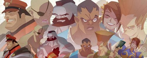 Street Fighter montage