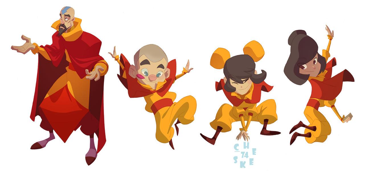 Tenzin's kiddies! by cheeks-74
