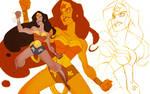 Wonder Woman's new tattoo