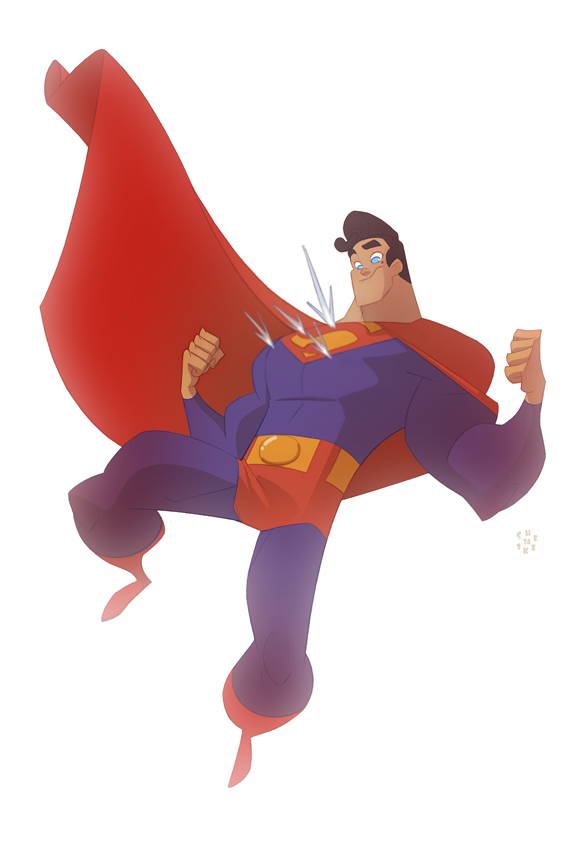 Superman by cheeks-74