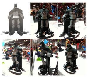 Batman B/W sculpt