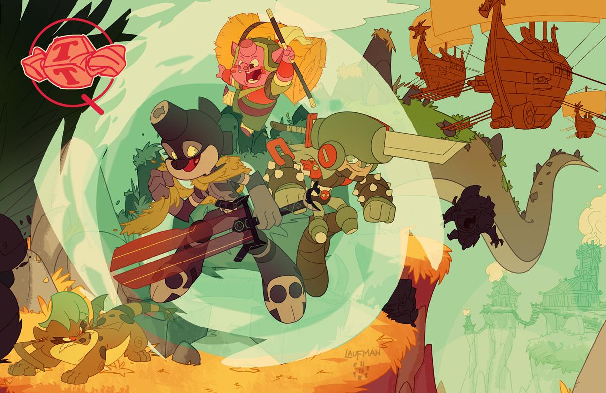 LittleBigHeads Kickstarter promo colors! by cheeks-74