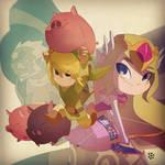 Zelda pin-up