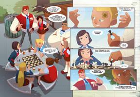 Gumshoes 4 Hire Kickstarter cheeks peek 6! by cheeks-74