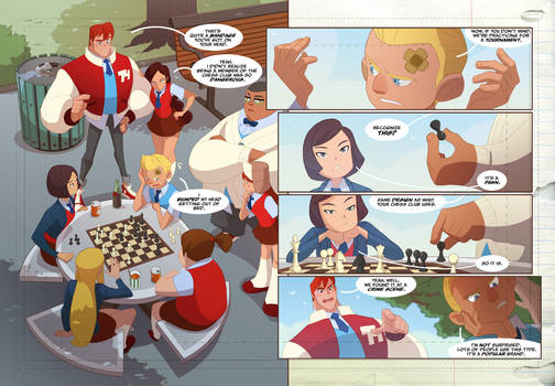 Gumshoes 4 Hire Kickstarter cheeks peek 6!