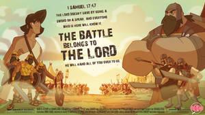 David and Goliath Comic Promo