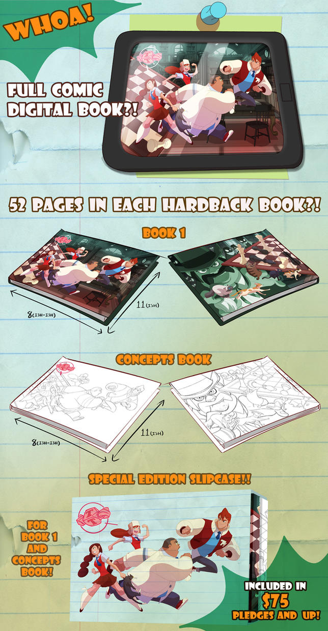 Gumshoes 4 Hire Kickstarter Digital book! by cheeks-74