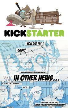 Gumshoes 4 Hire Kickstarter 2 hours left!