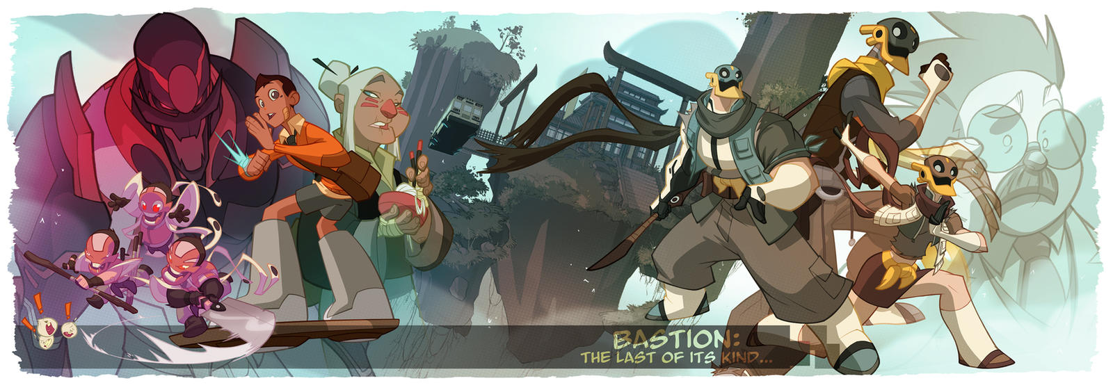 Bastion's 7 Kickstarter launches tomorrow! by cheeks-74
