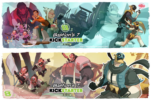 Bastion's 7 Kickstarter is now live!