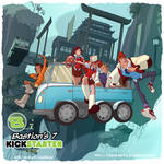 Bastion's 7-Gumshoes 4 Hire Crossover! by cheeks-74