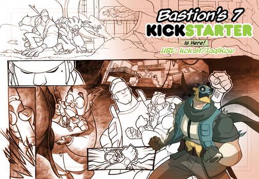Bastion's 7 Kickstarter in the final stretch