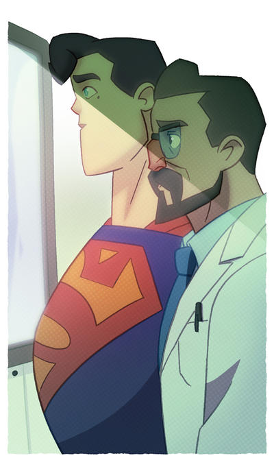 Superman comic debut! by cheeks-74