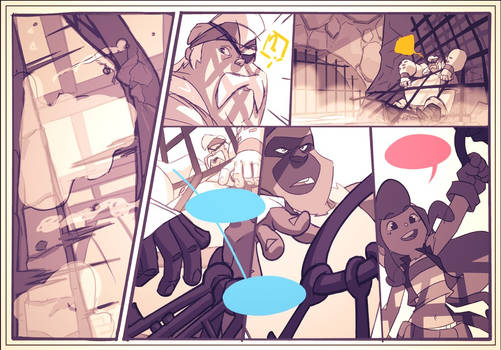 Bastion's 7 Shadow Pirates!