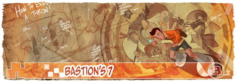 J Scott Campbell's Bastion 7 cover!