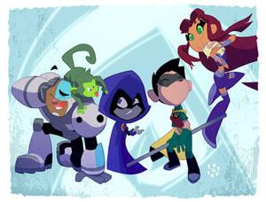 Teen Titans Gooooooooooo!