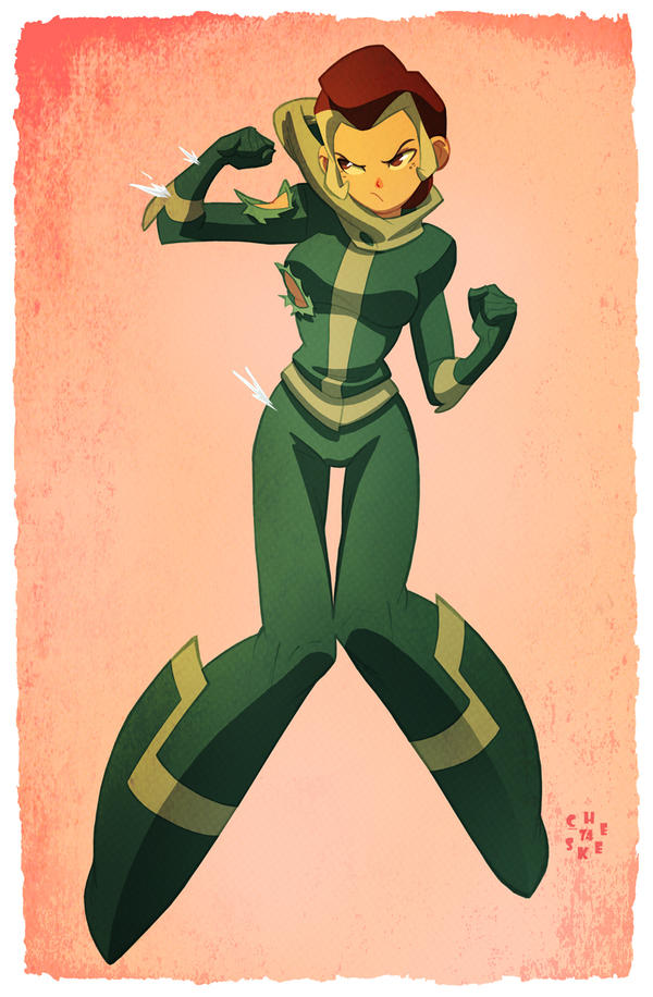 X-men's Rogue by cheeks-74