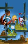 Teen Titans cover