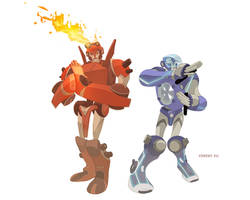 Transformers colored by cheeks-74