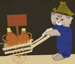 Cidar Cat by bobbymono