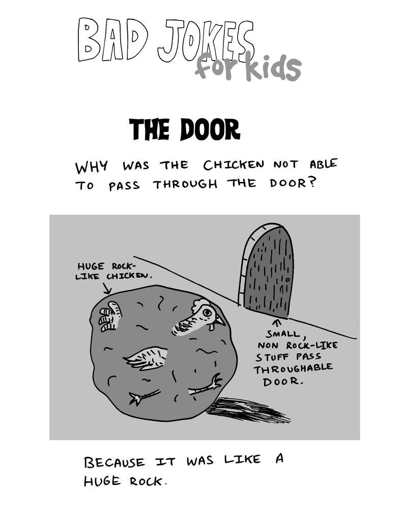 Bad Jokes FOR KIDS----The Door
