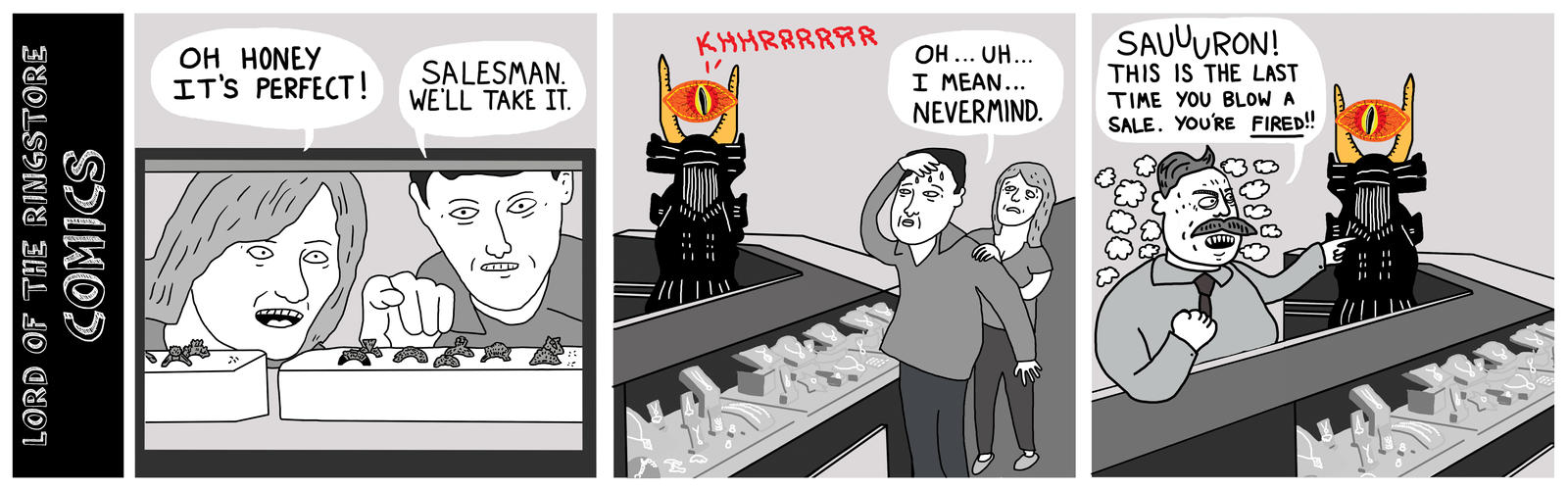 Lord of the Ringstore Comics