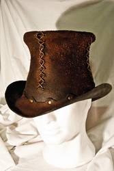 Rawhide Top Hat by Adhras