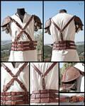 Leather Harness + Shoulder Armor