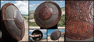 Renaissance Style Round Shield for larp