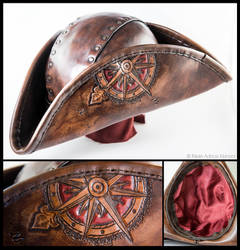 Tricorn With Compass Rose
