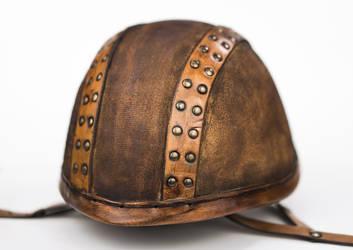 Steampunk Military Helmet