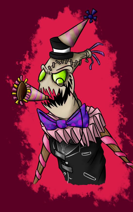Fiddlesticks the Party Crasher by DeathDragon13