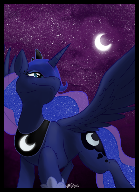 Princess Of The Night Sky by DeathDragon13