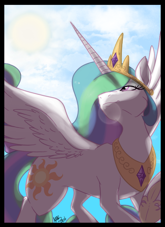 Princess Of The Morning Sun by DeathDragon13
