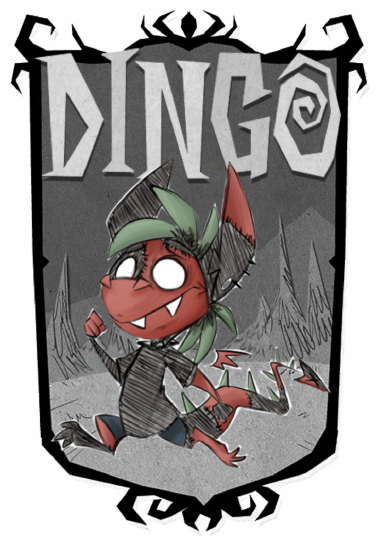 Don't Starve : Dingo Portrait by DingoTK