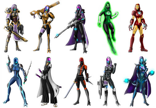 Imagery of Tali (x10) part2