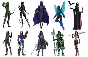 Imagery of Tali (x10) part4