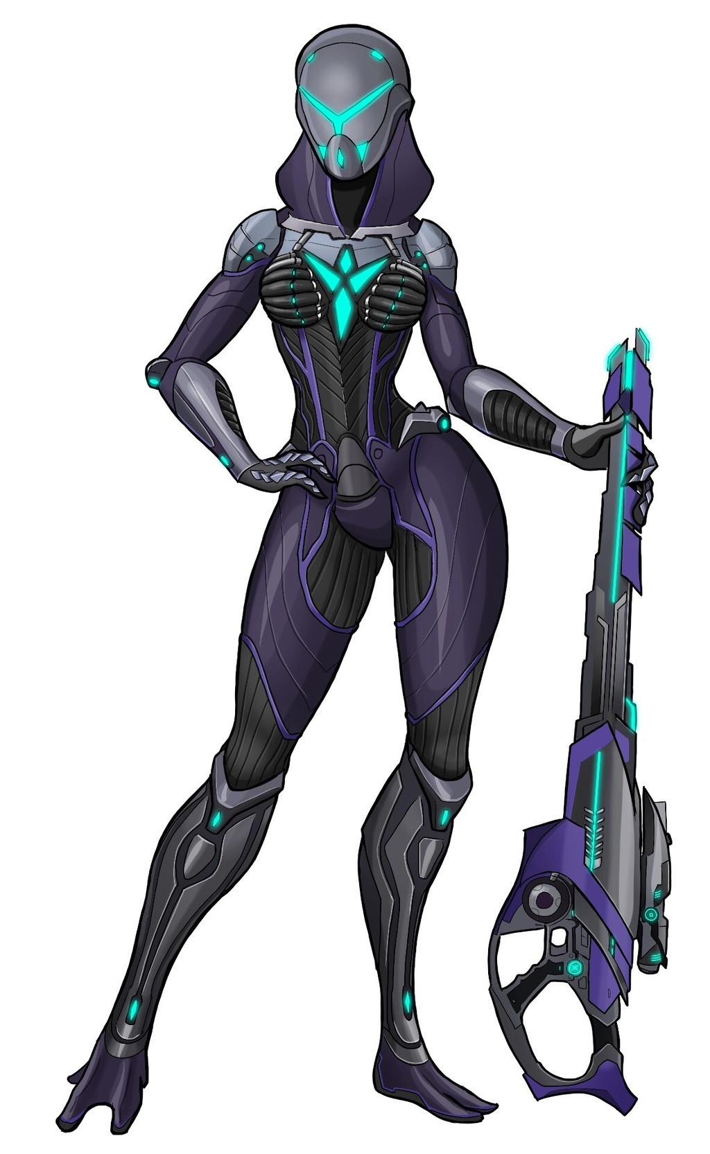 Tali - Vanu infiltrator by spaceMAXmarine