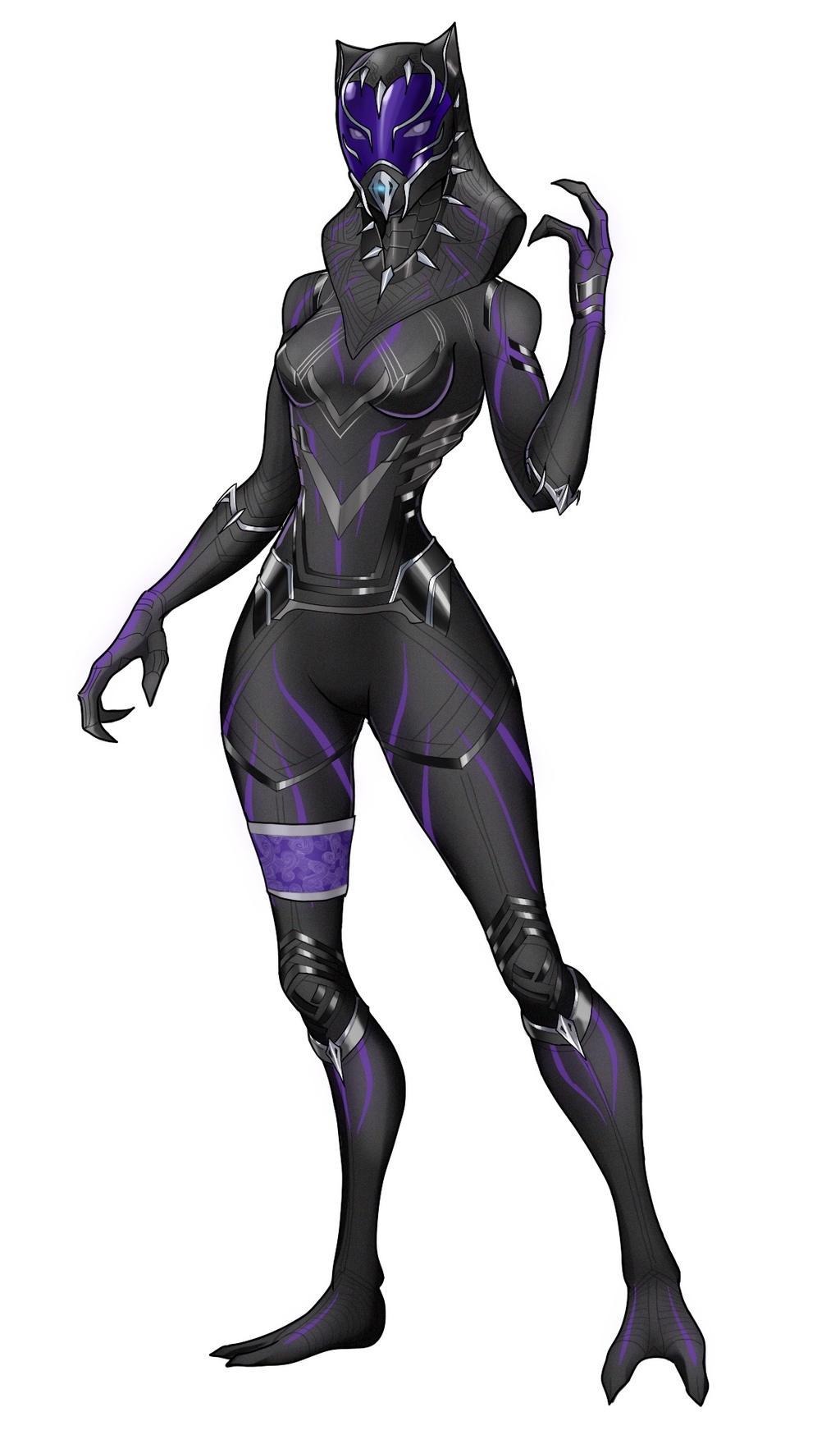 Tali - Black Panter by spaceMAXmarine