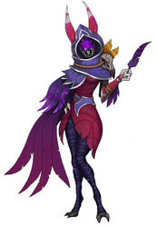 Tali - Xayah by spaceMAXmarine