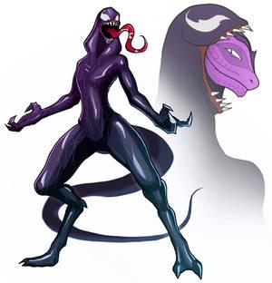 Tali Lizard - Venom