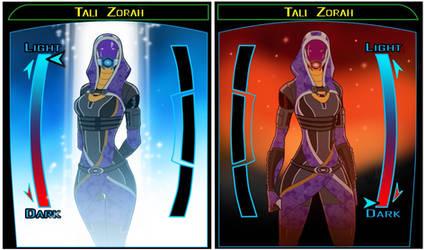 SW KOTOR Tali profile by spaceMAXmarine