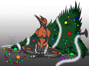 Valcat dropped the Christmas tree by spaceMAXmarine